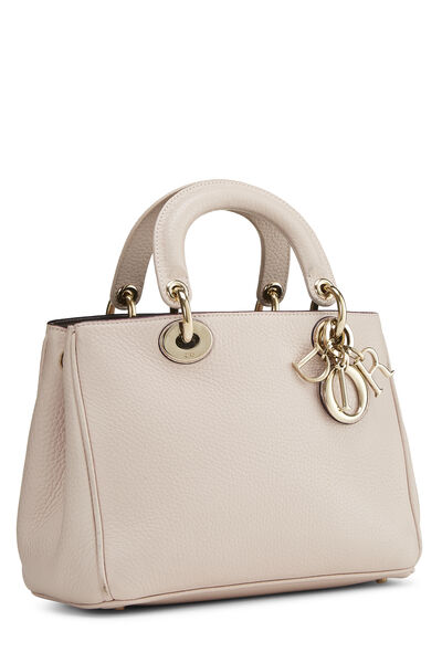 Pink Calfskin Diorissimo Handbag Mini, , large