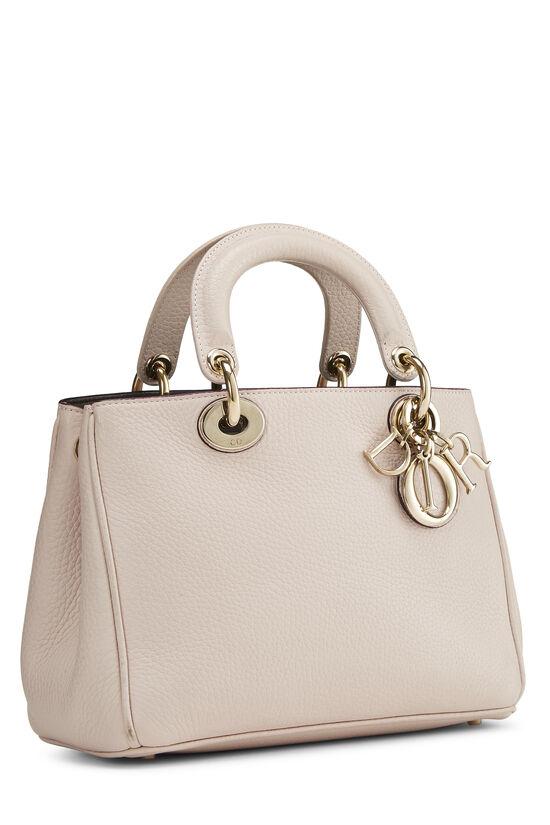 Pink Calfskin Diorissimo Handbag Mini, , large image number 1