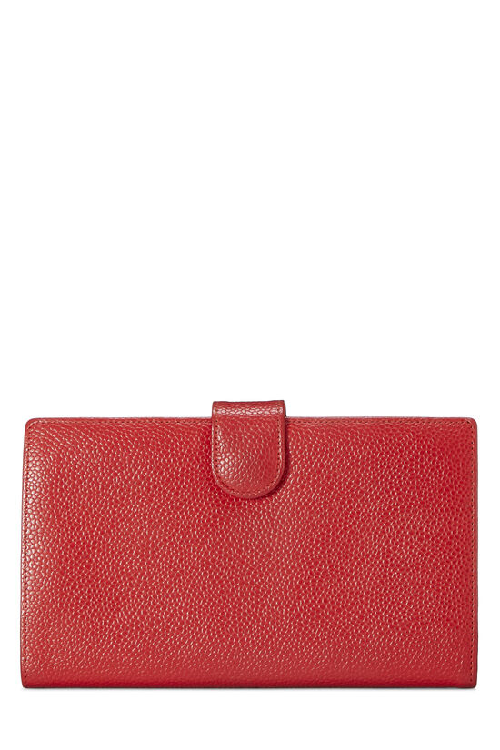 Red Caviar Timeless 'CC' Wallet, , large image number 2
