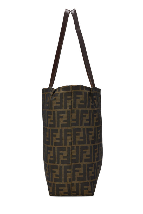 Brown Zucca Nylon Tote Small, , large image number 2