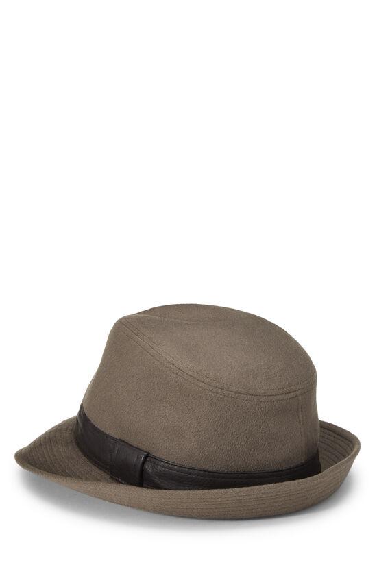 Grey Cashmere Fedora, , large image number 2