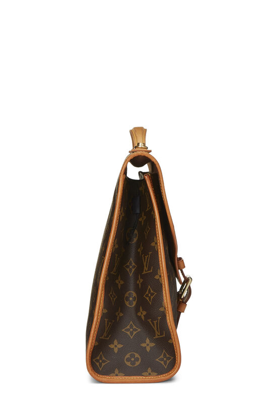 Monogram Canvas Beverly Briefcase, , large image number 2