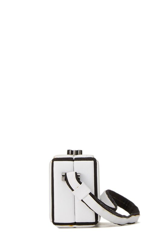 White Lambskin Clutch, , large image number 2