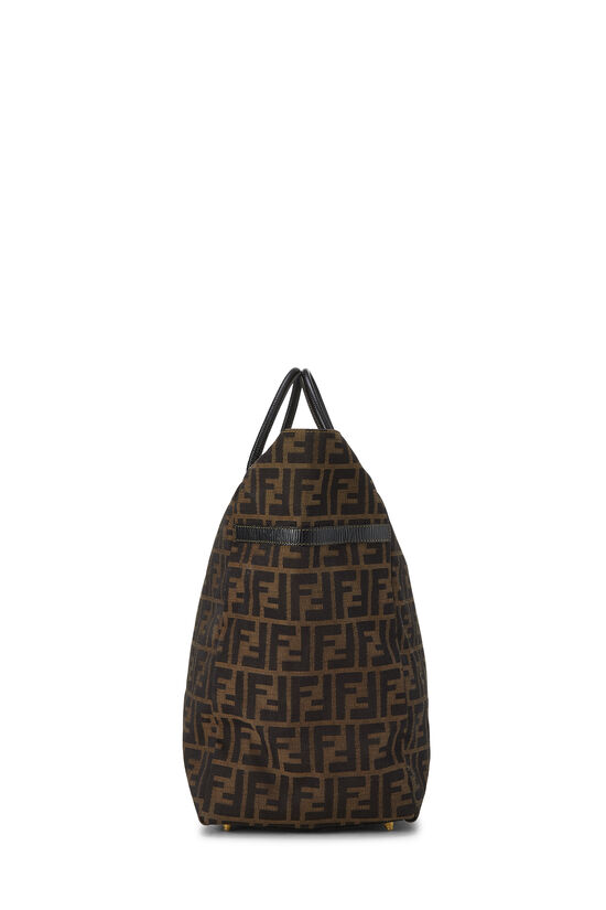 Brown Zucca Canvas Duffle XL, , large image number 2
