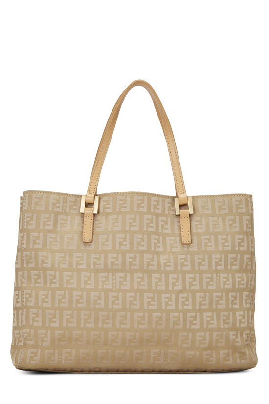 Beige Zucchino Canvas Shopping Tote Small, , large image number 3
