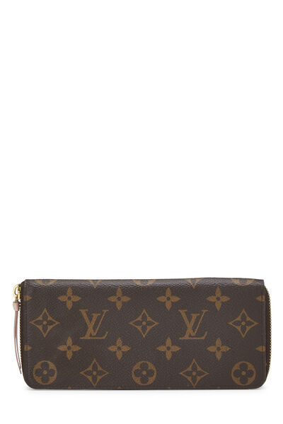 Monogram Canvas Clemence Continental Wallet