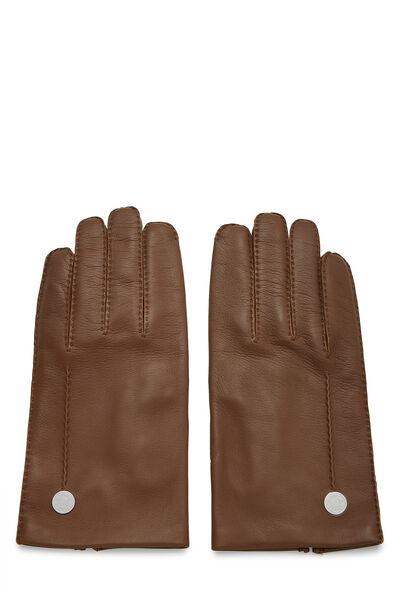 Brown Lambskin Gloves