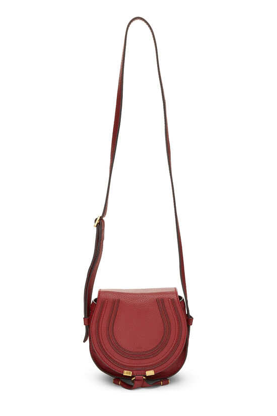 Red Leather Marcie Crossbody Mini, , large image number 6