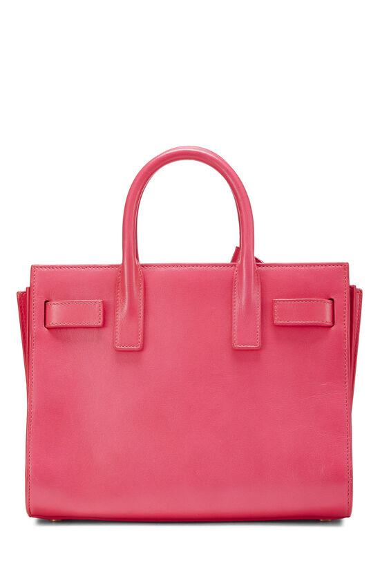 Pink Calfskin Sac de Jour Nano, , large image number 4