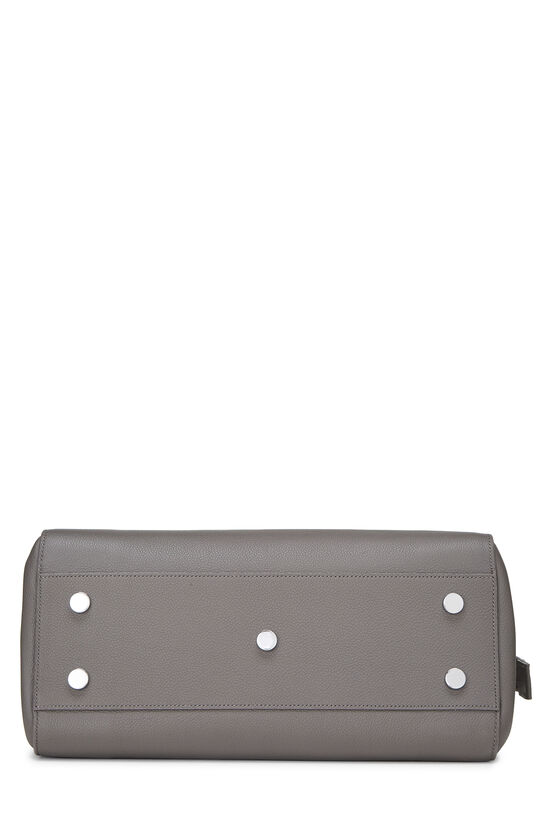 Grey Calfskin Rive Gauche Cabas Small, , large image number 5