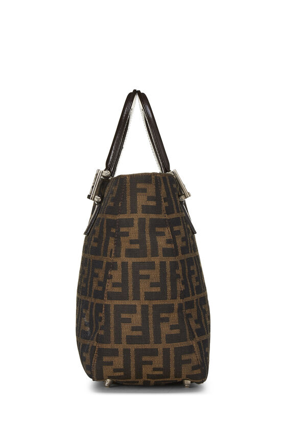 Brown Zucca Canvas Handbag Small, , large image number 2