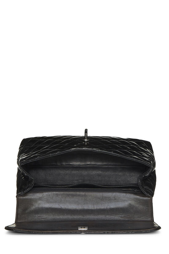 Black Quilted Patent Leather Kelly Jumbo, , large image number 5