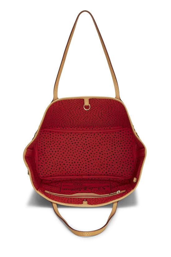 Yayoi Kusama x Louis Vuitton Red Monogram Dots Infinity Neverfull MM, , large image number 5