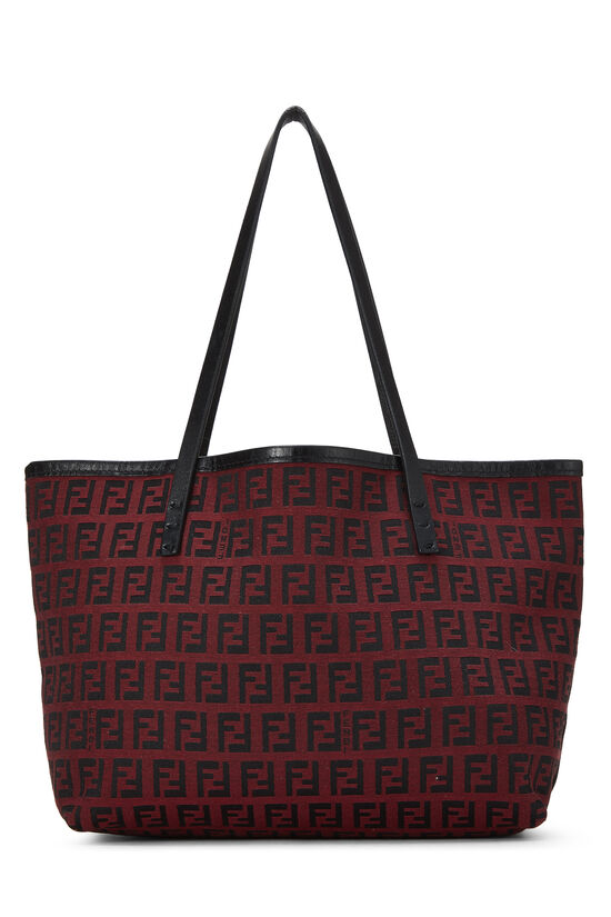 Red & Black Zucchino Canvas Tote Mini, , large image number 3