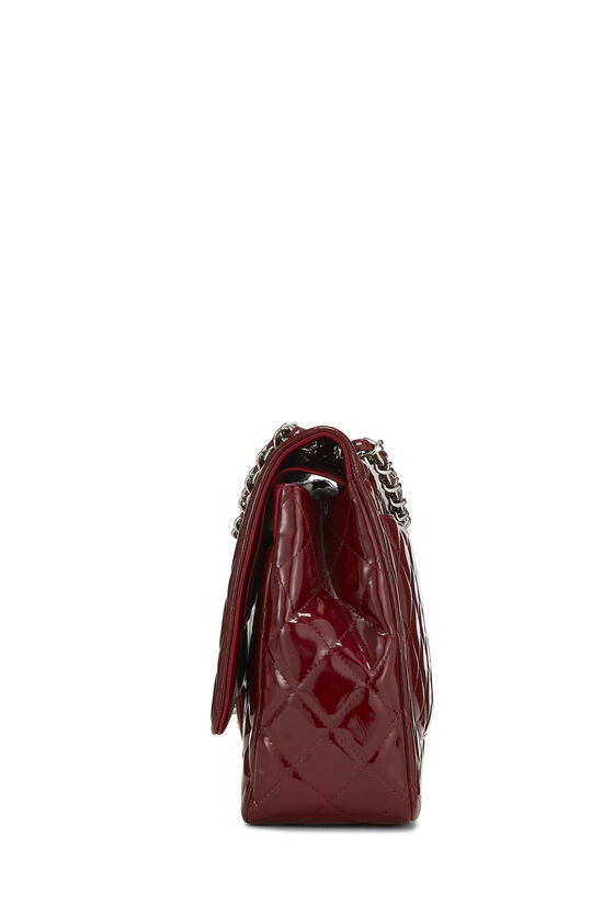 Red Quilted Patent Leather New Classic Double Flap Maxi, , large image number 2