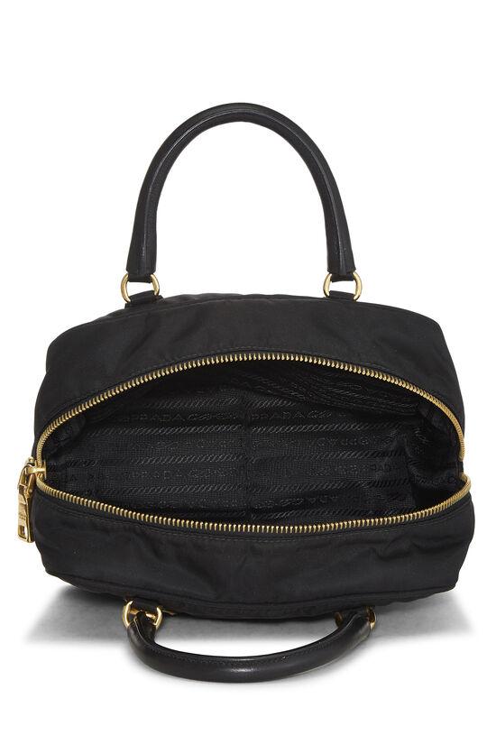 Black Tessuto Nylon Handbag Mini, , large image number 5