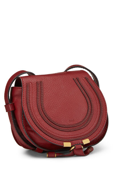 Red Leather Marcie Crossbody Mini, , large
