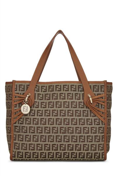 Brown Zucchino Canvas Handbag Small