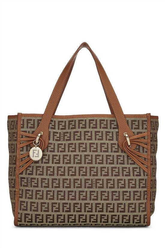 Brown Zucchino Canvas Handbag Small, , large image number 0