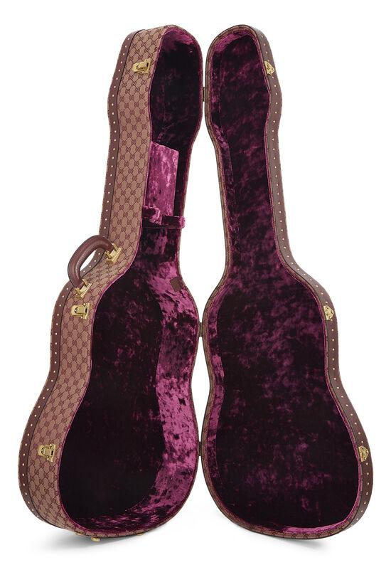 Burgundy GG Canvas Ophidia Guitar Case, , large image number 6