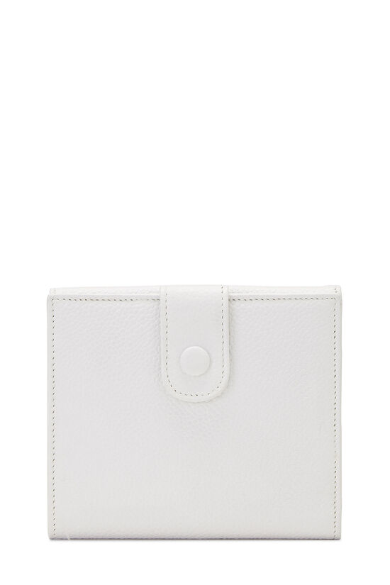 White Caviar 'CC' Timeless Compact Wallet, , large image number 2