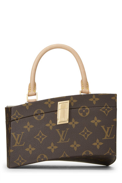 Frank Gehry x Louis Vuitton Monogram Canvas Twisted Box