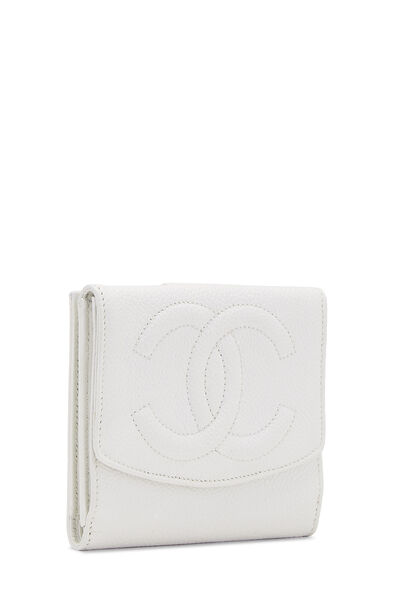 White Caviar 'CC' Timeless Compact Wallet, , large
