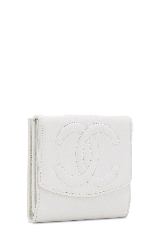 White Caviar 'CC' Timeless Compact Wallet, , large image number 1