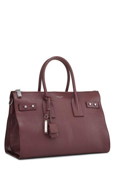 Burgundy Leather Sac De Jour Small, , large
