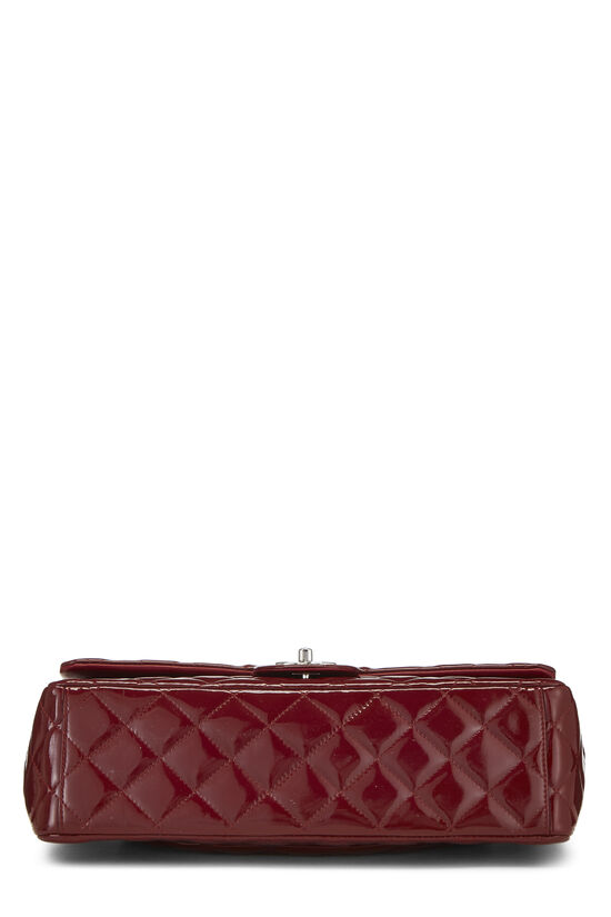 Red Quilted Patent Leather New Classic Double Flap Maxi, , large image number 4