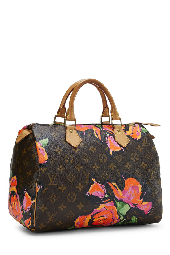 Stephen Sprouse x Louis Vuitton Monogram Roses Speedy 30, , large image number 1