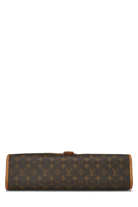 Monogram Canvas Beverly Briefcase, , large image number 4
