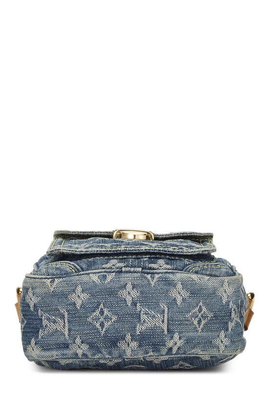 Blue Monogram Denim Camera Bag, , large image number 5