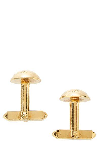 Gold-Tone Cufflinks, , large