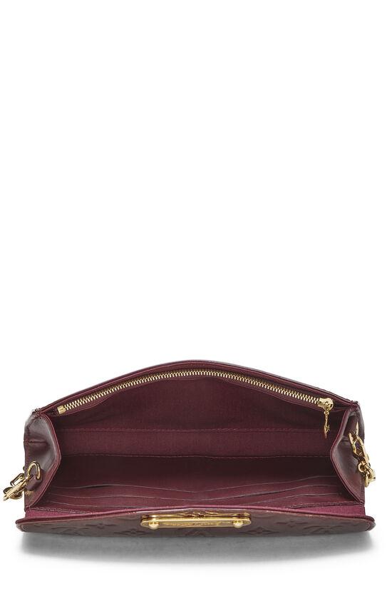 Rouge Fauviste Monogram Vernis Sunset Boulevard Shoulder Bag, , large image number 5