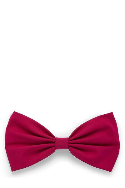 Pink Nylon Bow Headband