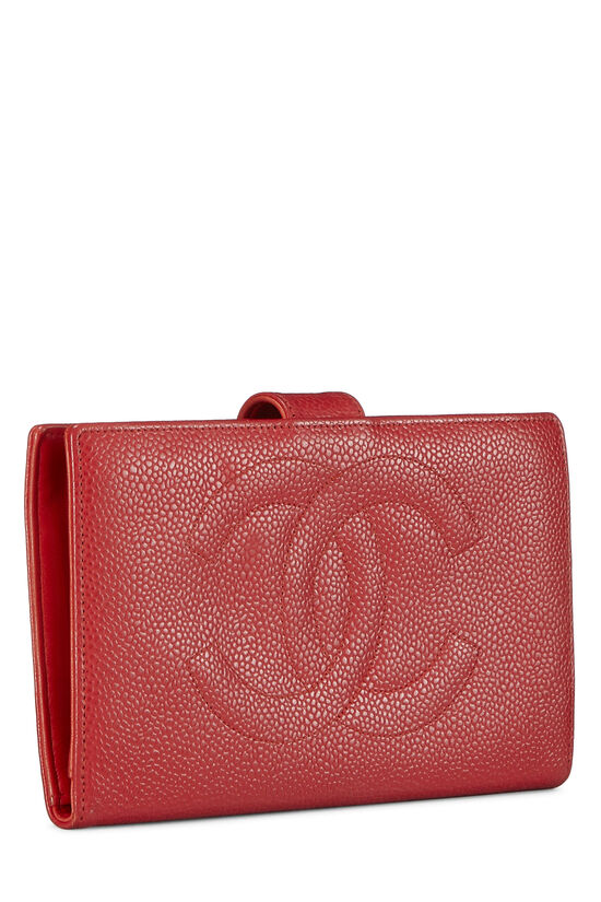 Red Caviar Timeless 'CC' Wallet, , large image number 1