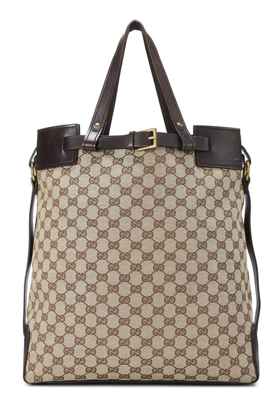 Original GG Canvas Buckle Tote Small, , large image number 3