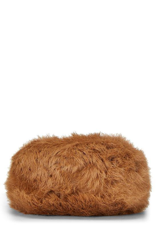 Brown Fur Wristlet, , large image number 4