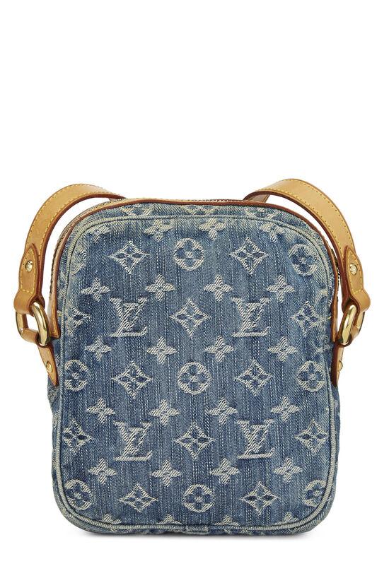 Blue Monogram Denim Camera Bag, , large image number 4