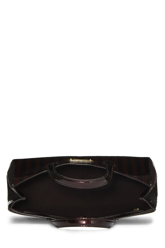 Griotte & Amarante Monogram Vernis Rayures Wilshire PM, , large image number 5