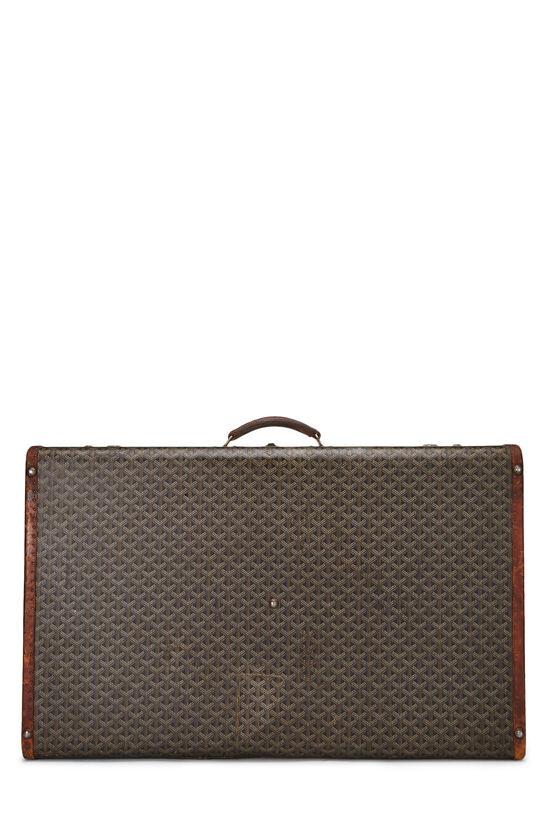 Black Goyardine Coated Canvas Suitcase, , large image number 3