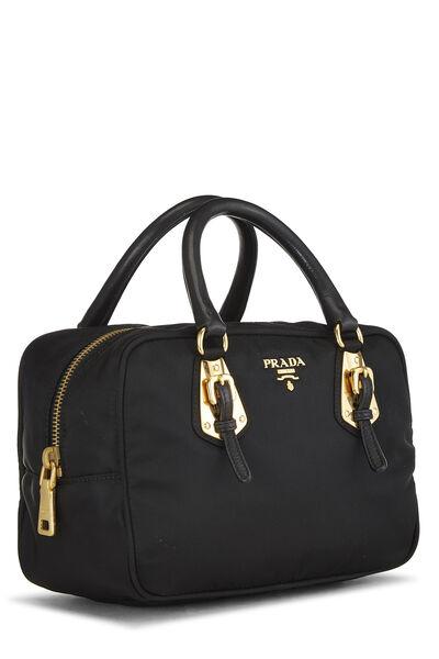 Black Tessuto Nylon Handbag Mini, , large