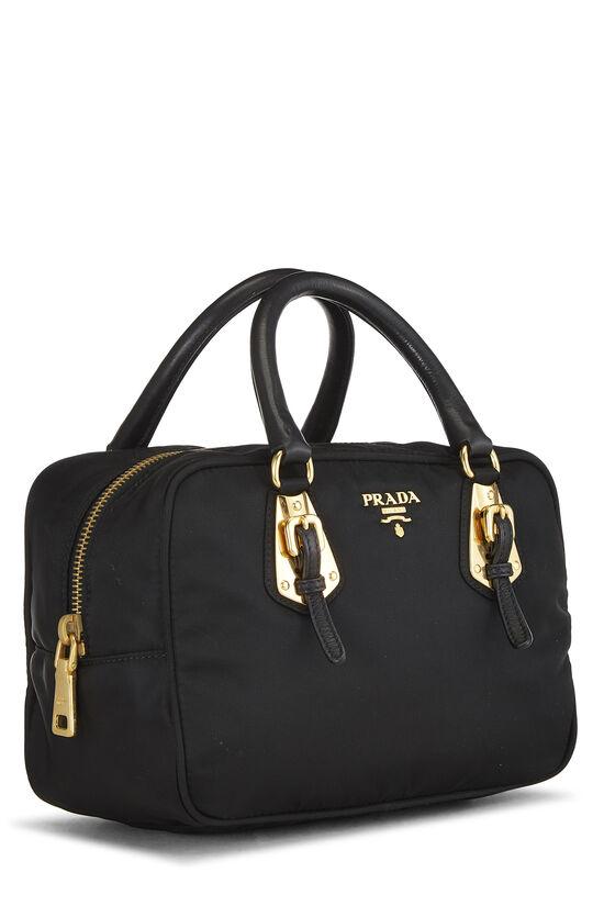 Black Tessuto Nylon Handbag Mini, , large image number 1