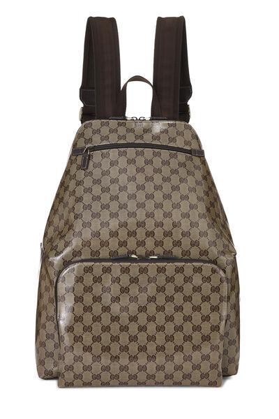 Original GG Crystal Canvas Travel Backpack XL