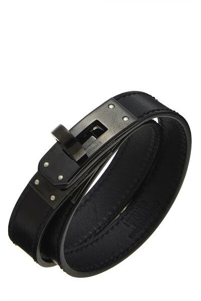 So Black Kelly Double Tour Leather Bracelet
