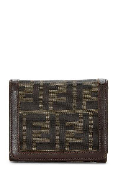 Brown Zucca Canvas Wallet