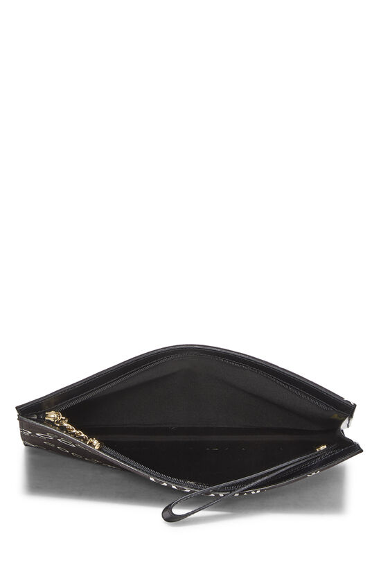 Black Canvas Coco Pouch, , large image number 3