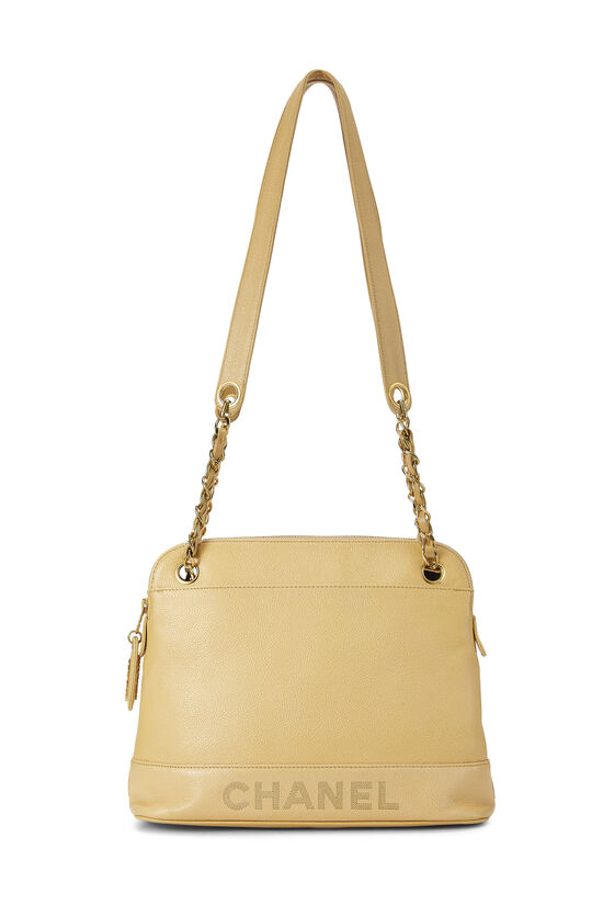 Beige Caviar Tote Small, , large image number 0