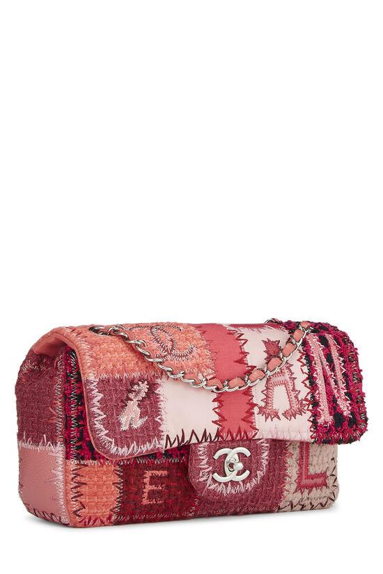 Pink Patchwork Half Flap Medium, , large image number 1